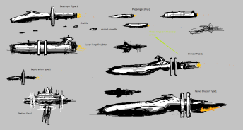 Ship concepts Human 1