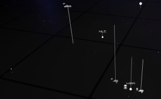 Procedural AI factions and random unknown fleets WIP