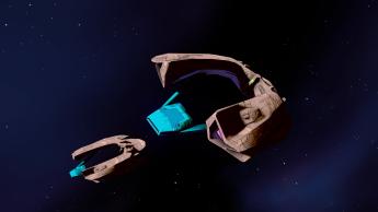 Kabrian frigate.